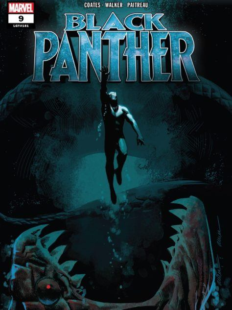 Black Panther #9 cover