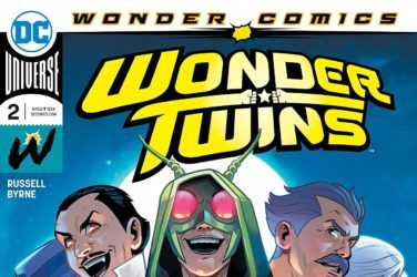 Wonder Twins #2 Cover