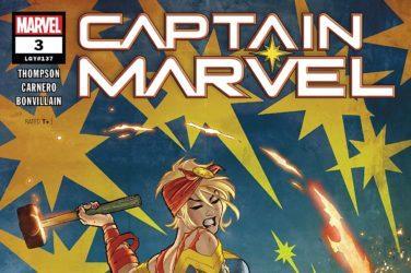 Captain Marvel #3 cover