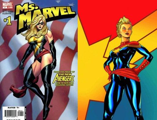 Ms Marvel vs Captain Marvel