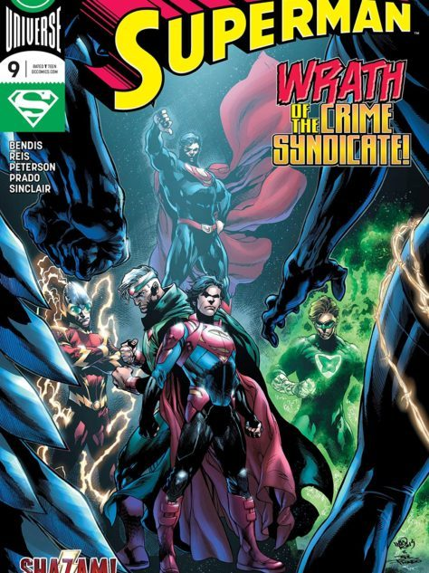 Superman #9 Cover