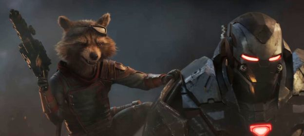 Rocket Raccoon and War Machine