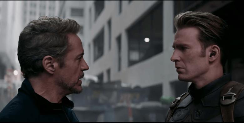 Tony and Steve face off