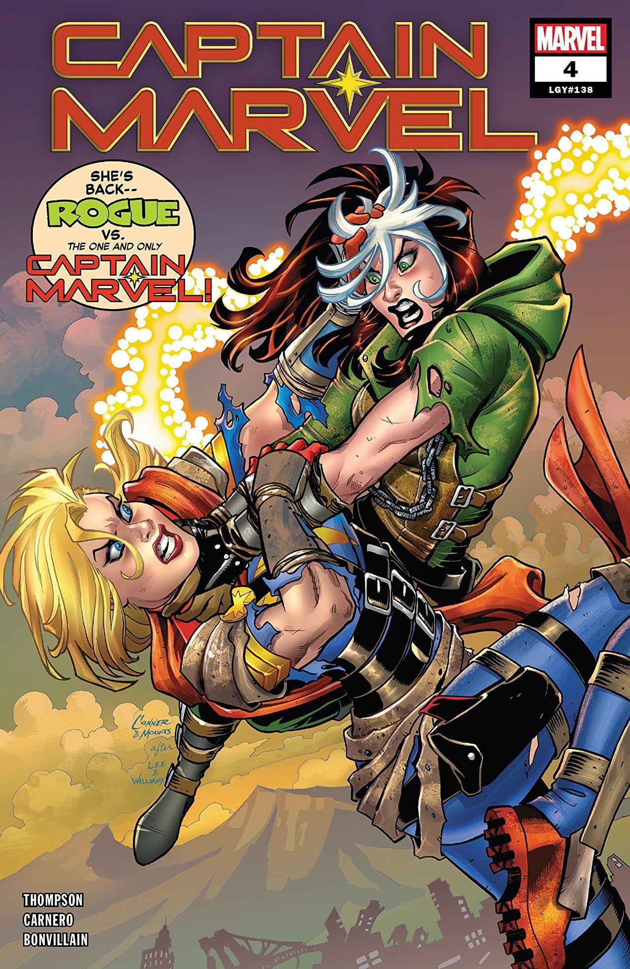Captain Marvel #4 Cover