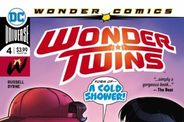 Wonder Twins #4 Cover