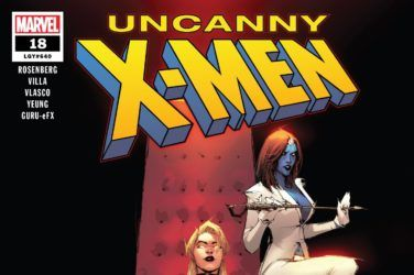 Uncanny X-Men #18 Cover