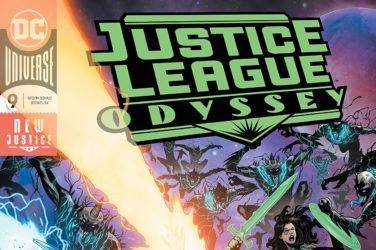 Justice League Odyssey #9 Cover