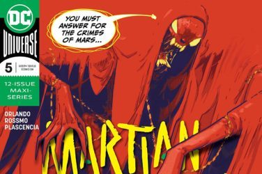 Martian Manhunter #5 Cover