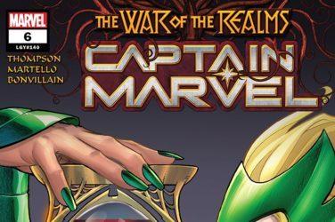 Captain Marvel #6 cover