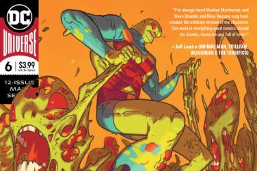 Martian Manhunter #6 Cover
