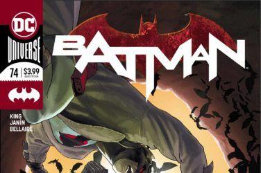 Batman #74 Cover