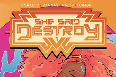 She Said Destory #3 Cover