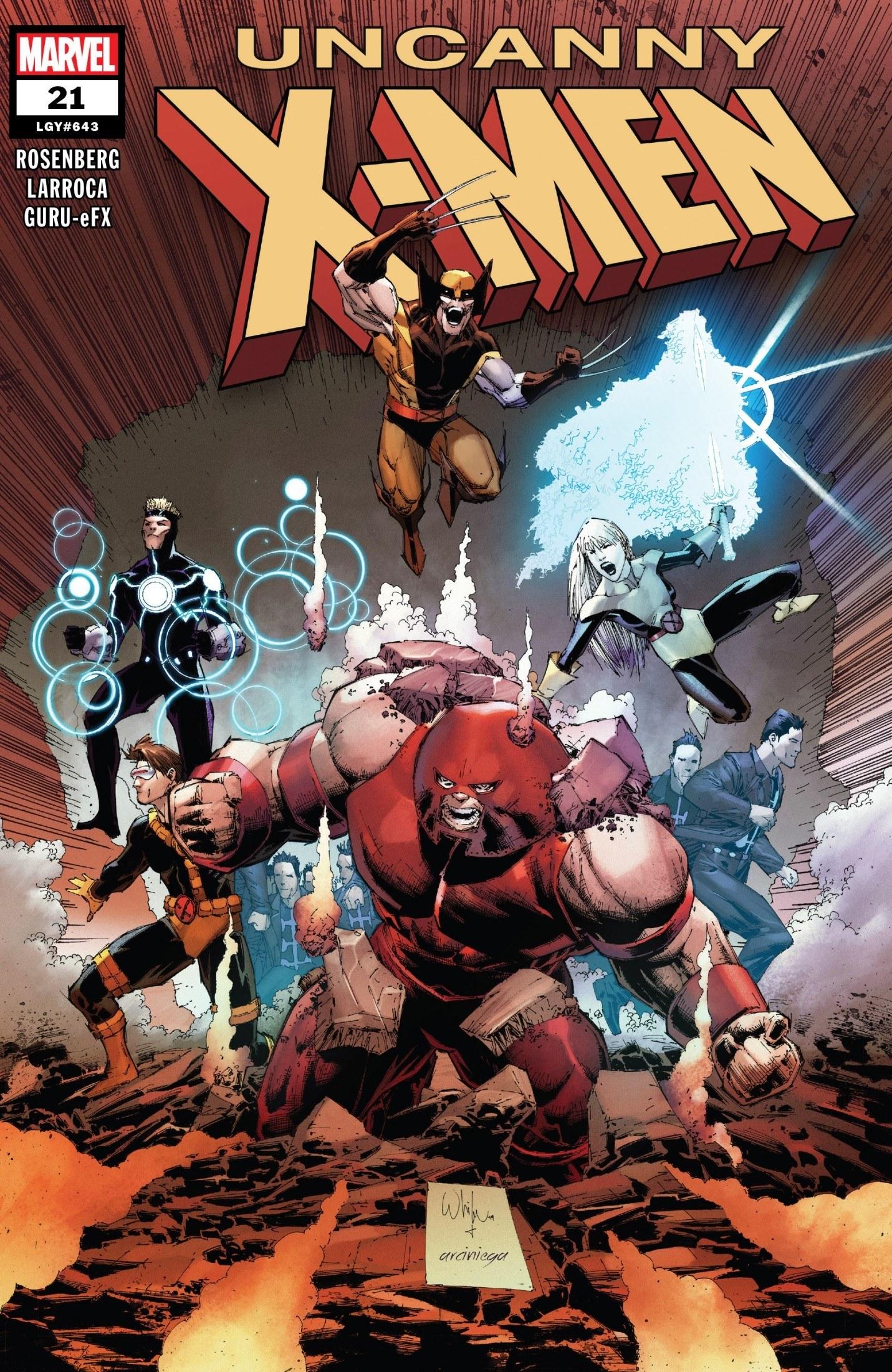 Uncanny X-Men #21 Cover