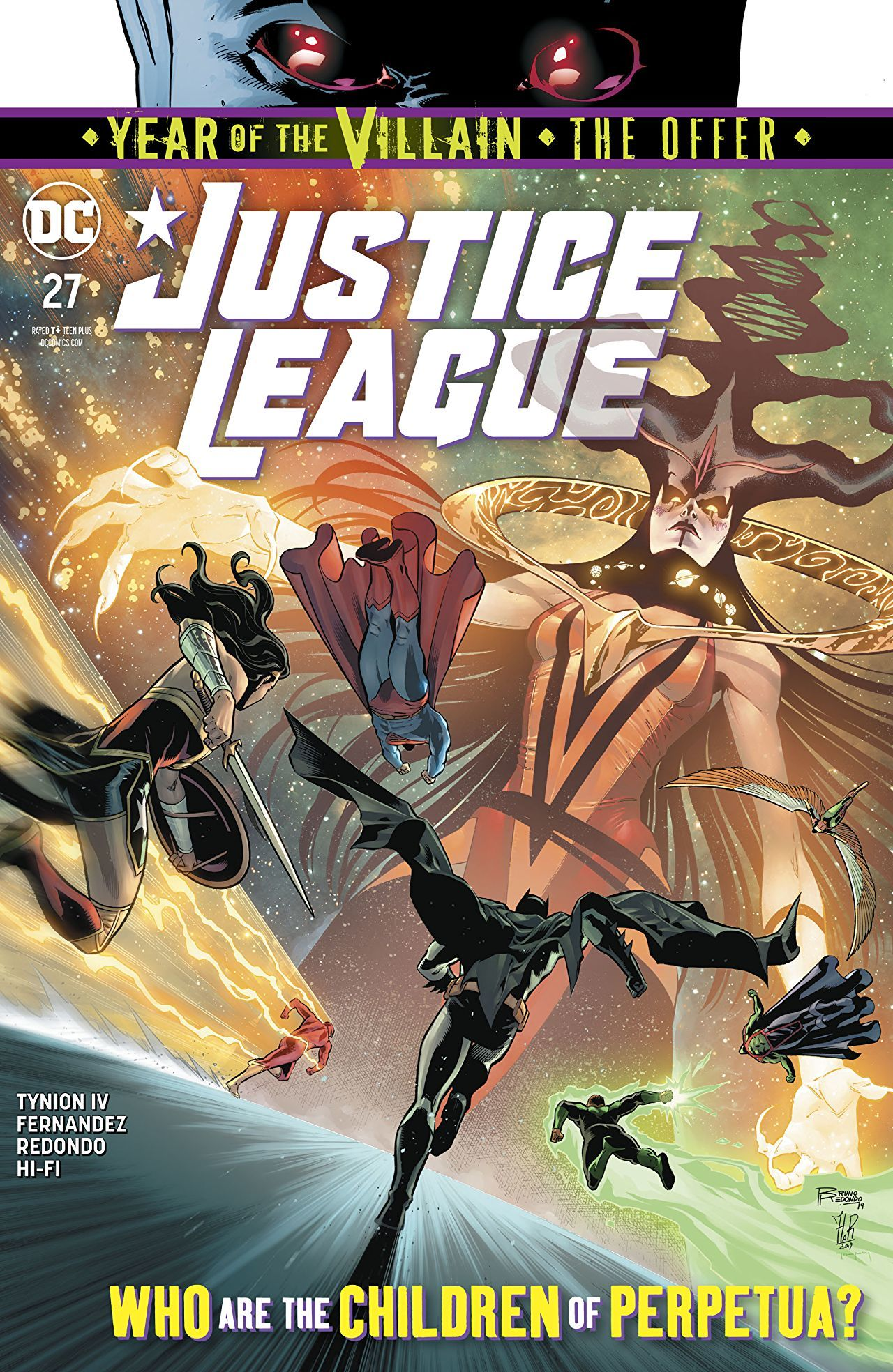 Justice League #27 Cover