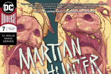 Martian Manhunter #7 Cover