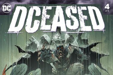 DCeased #4 Cover