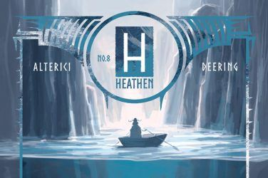 Heathen #8 cover