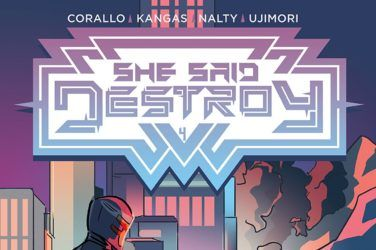 She Said Destroy #4 Cover