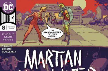 Martian Manhunter #8 Cover
