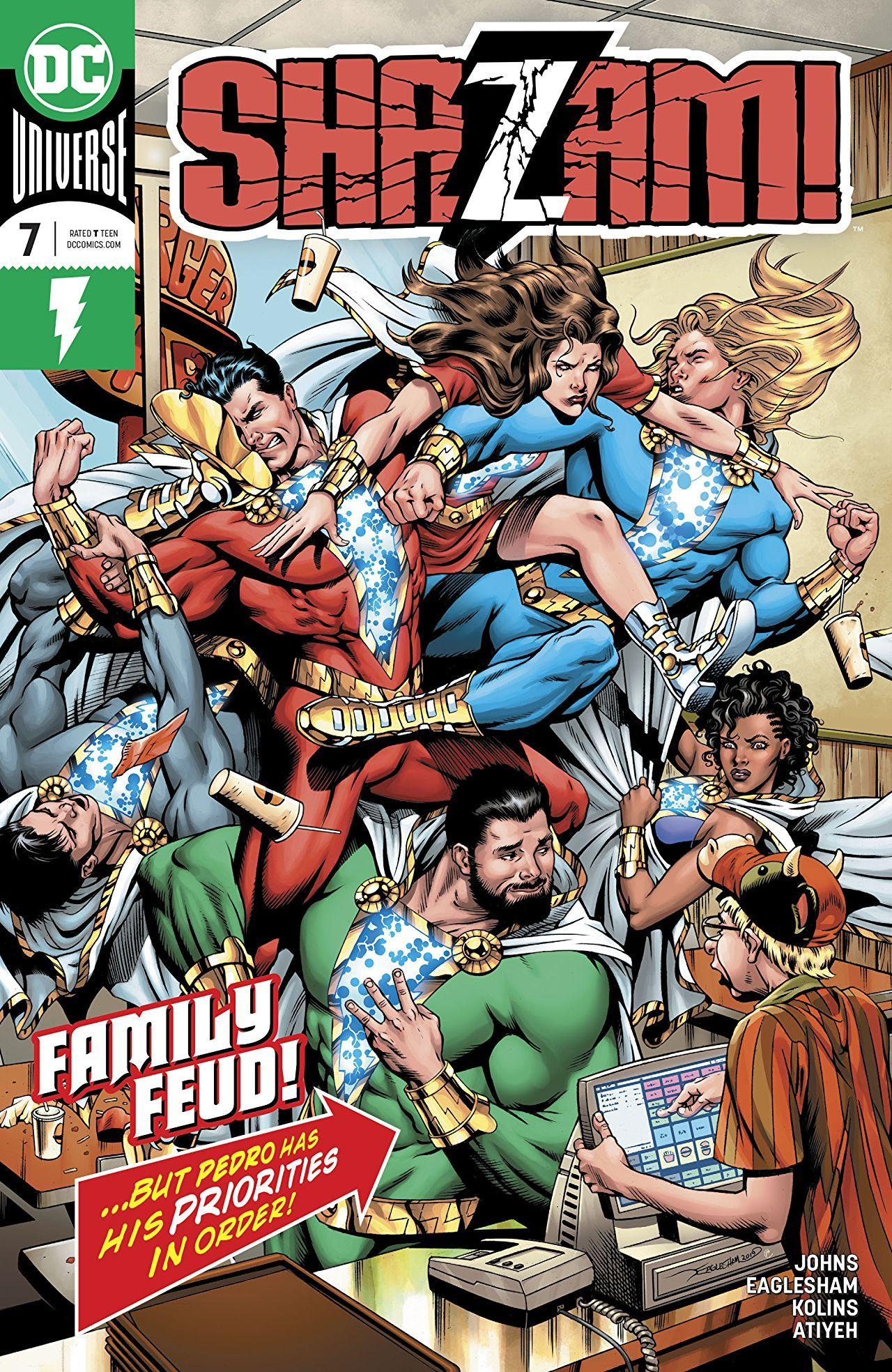 Shazam #7 Cover