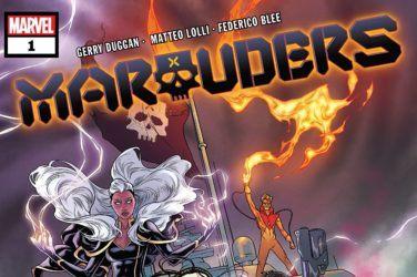 Marauders #1 cover