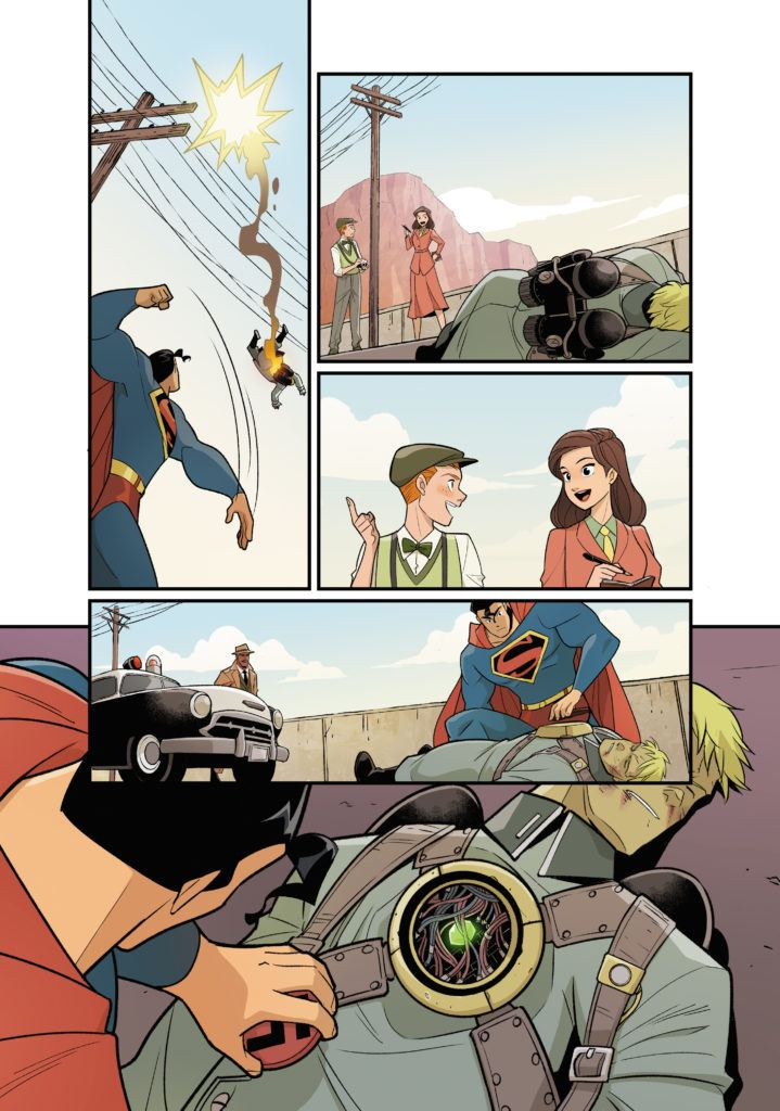 Superman Smashes the Klan #1 Inside