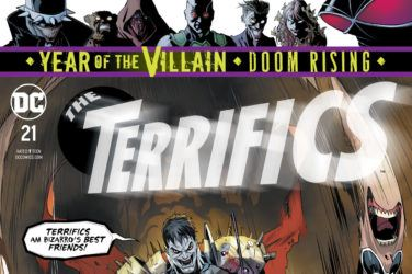 The Terrifics #21 Cover