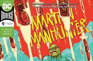 Martian Manhunter #9 Cover