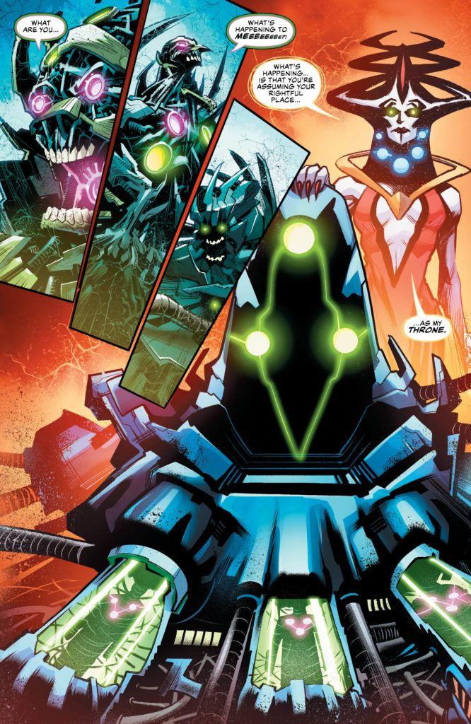 Justice League #36 Inside