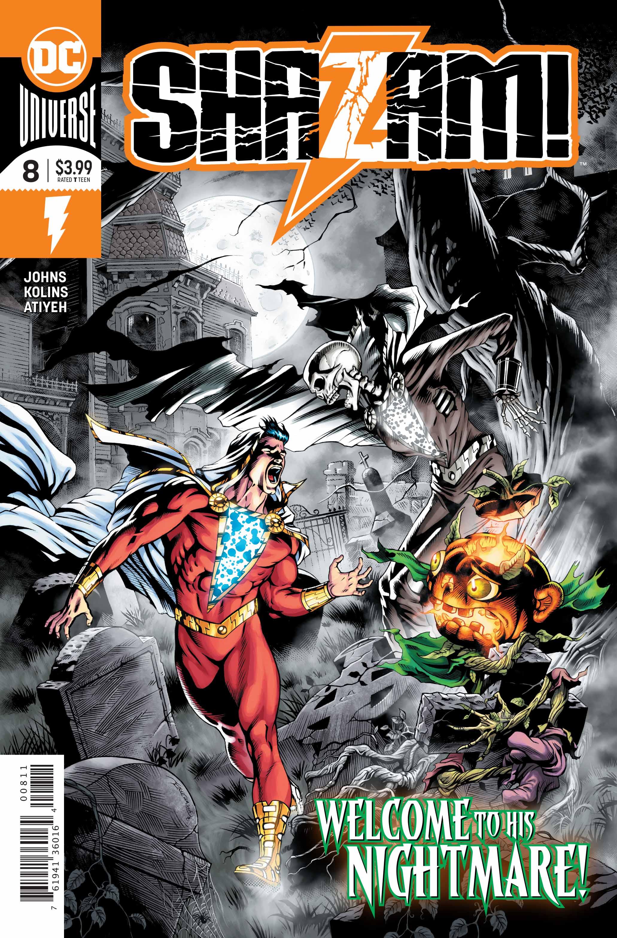 Shazam #8 Cover
