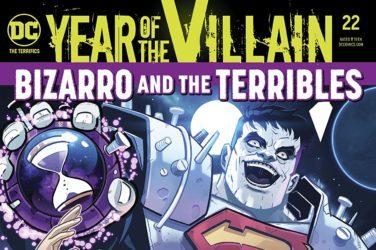 The Terrifics #22 Cover
