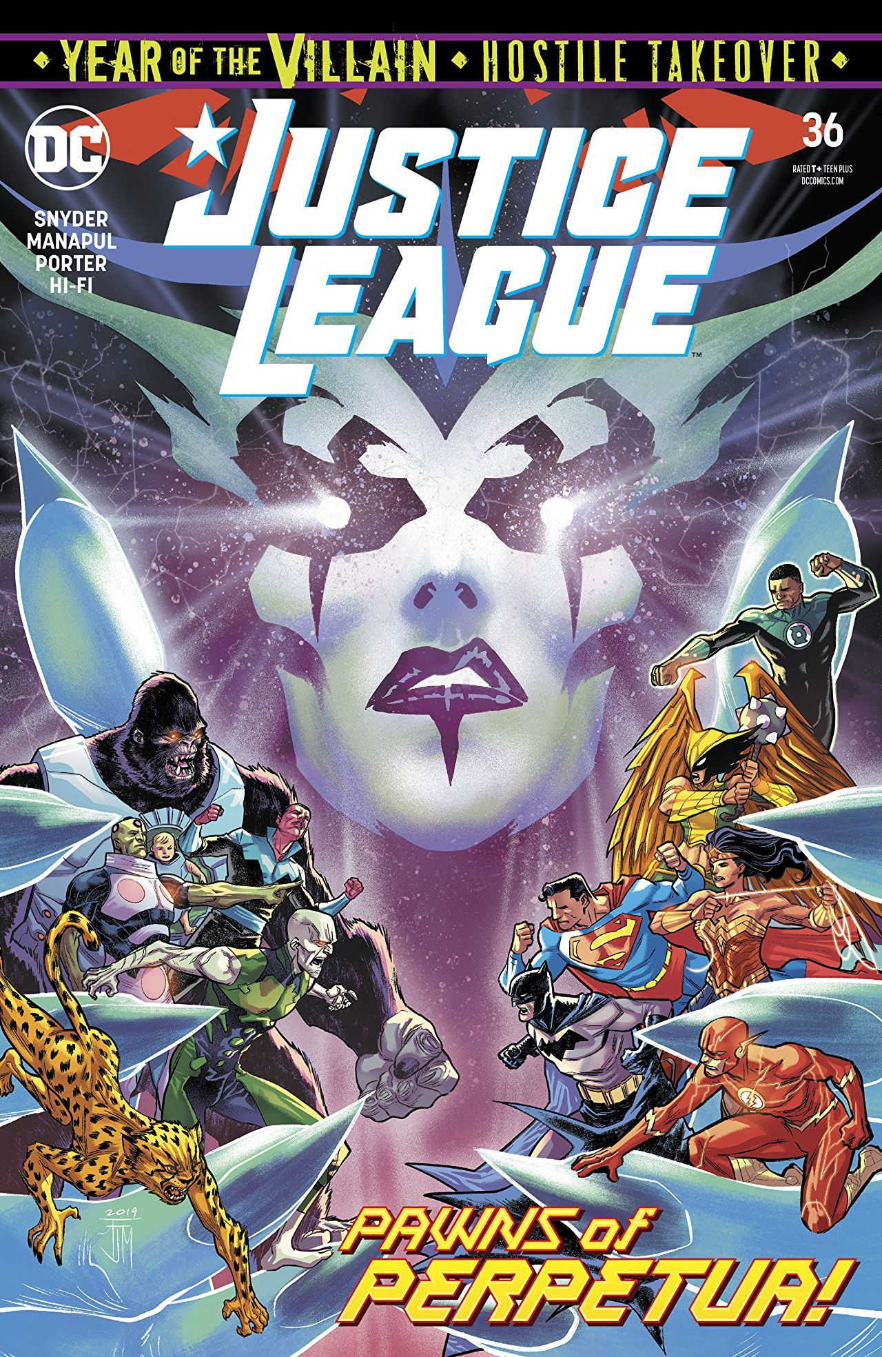 Justice League #36 Cover