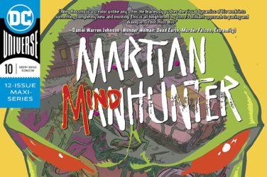 Martian Manhunter #10 Cover