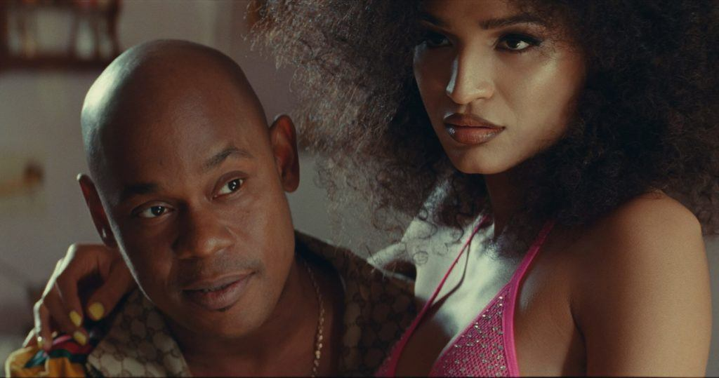Uncle Earl and Goddess in 'Queen & Slim'