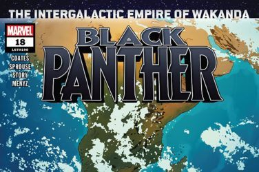 Black Panther #18 Cover
