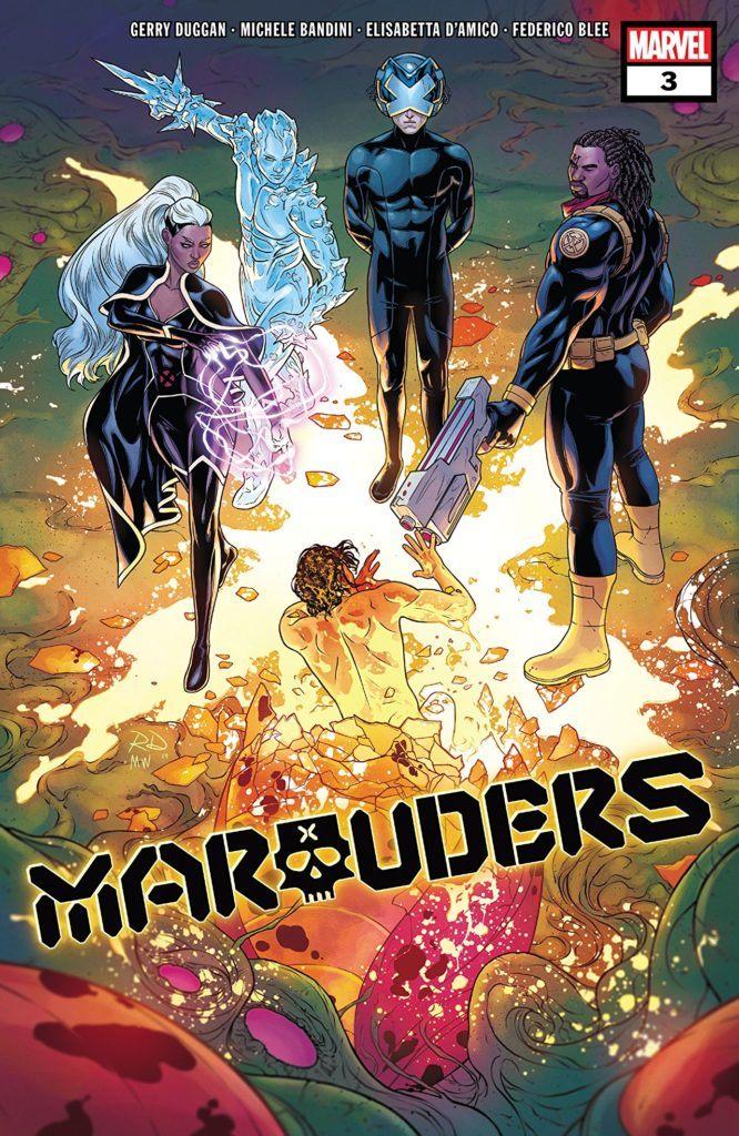 Marauders #3 Cover