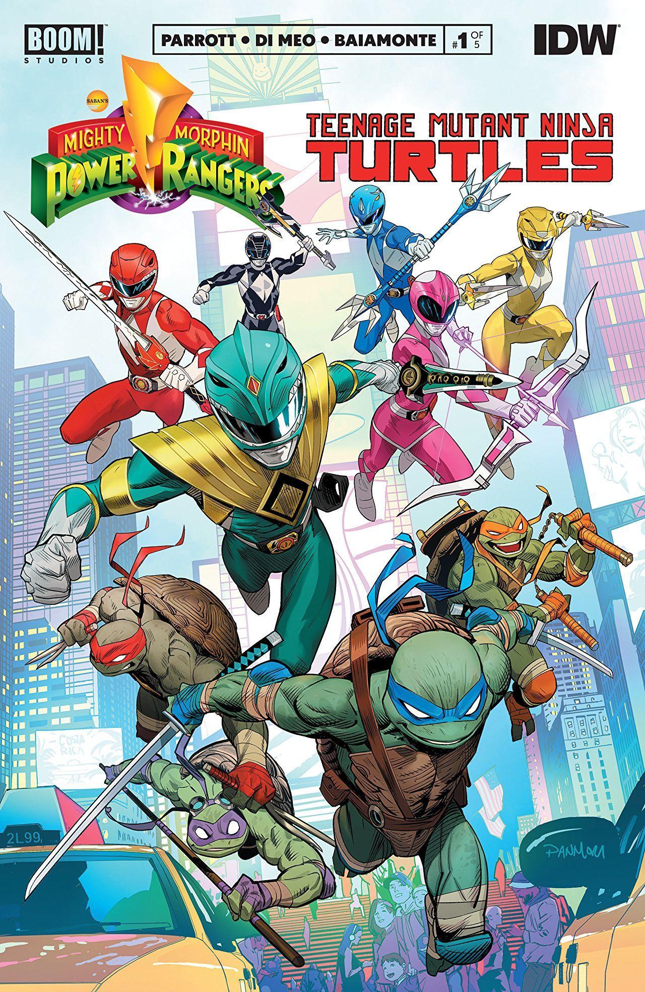 Ranger-Turtles #1 Cover