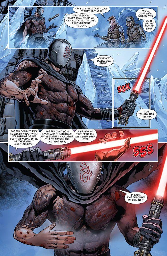 Star Wars: The Rise of Kylo Ren #1 Inside