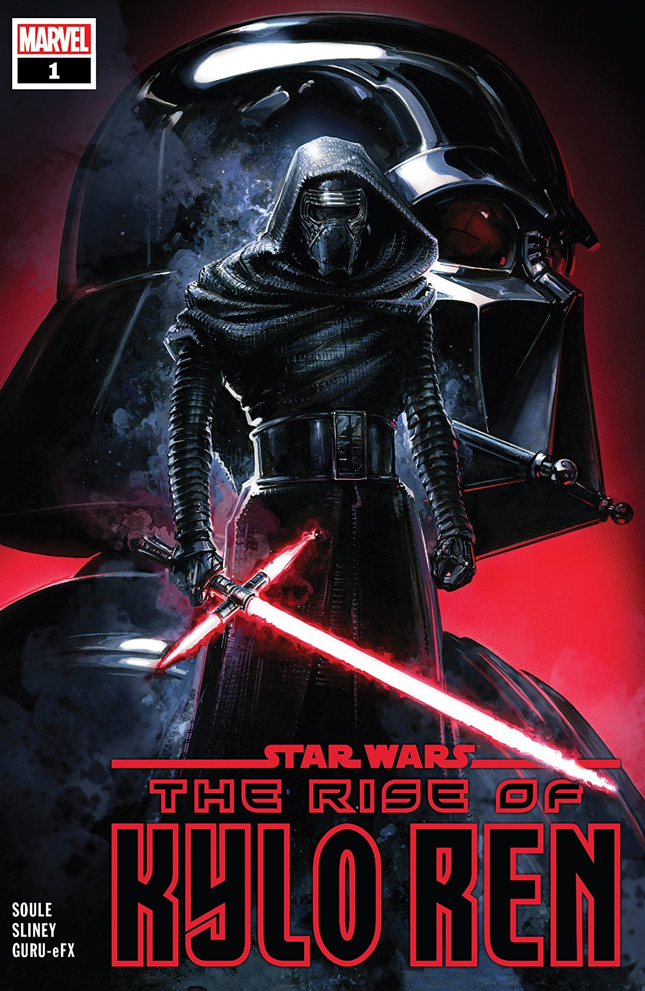 Star Wars: The Rise of Kylo Ren #1 Cover