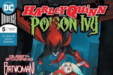 Harley Quinn & Poison Ivy #5 Cover