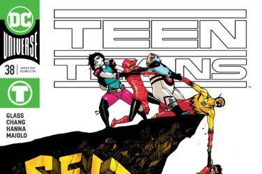 Teen Titans #38 Cover