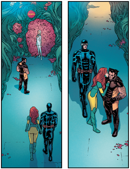 Interior from Giant-Size X-Men: Jean Grey and Emma Frost