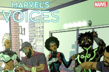 Marvel's Voices #1 Variant Cover by Stelfreeze
