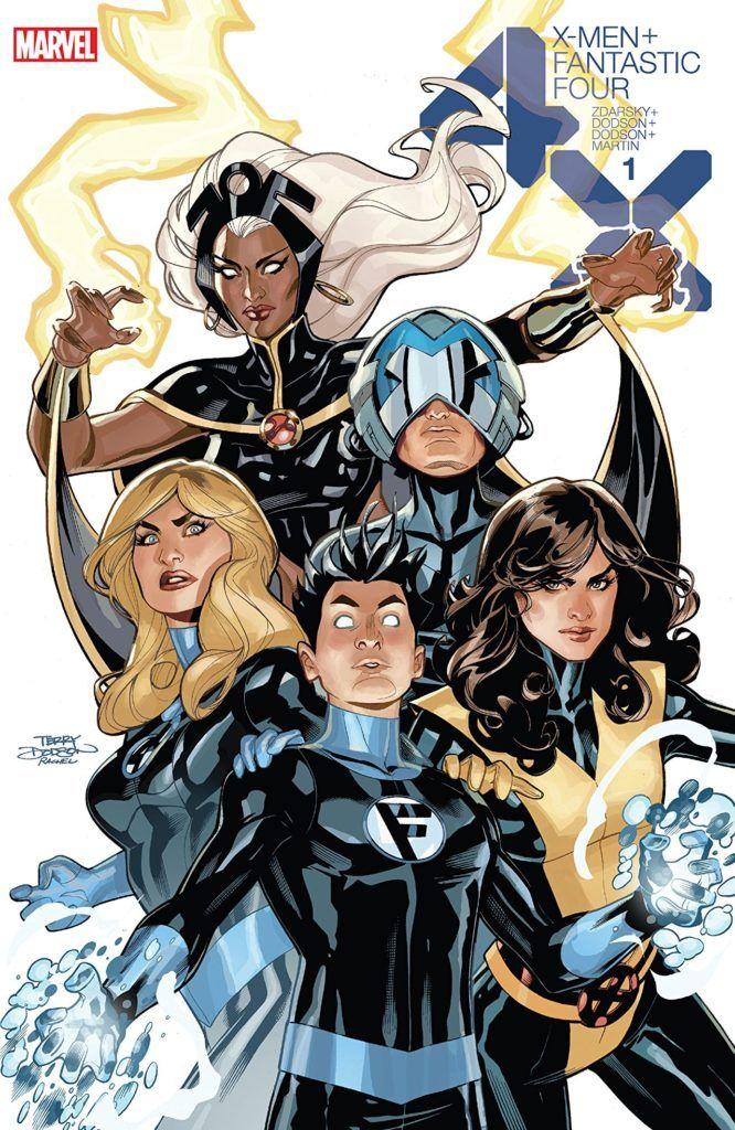 X-Men/Fantastic #1 Cover