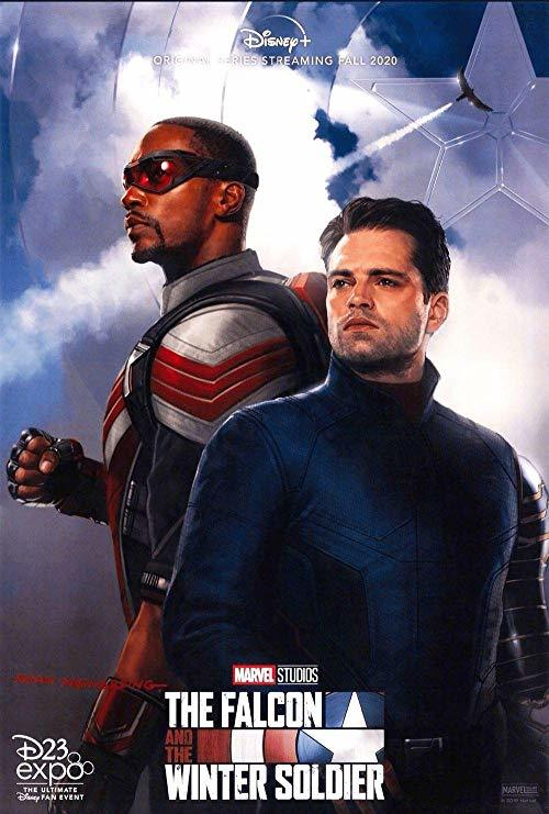 The Falcon and Winter Soldier poster from D23