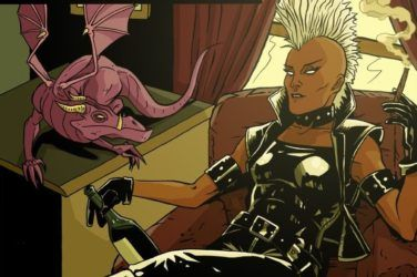 Storm Relaxing at Home