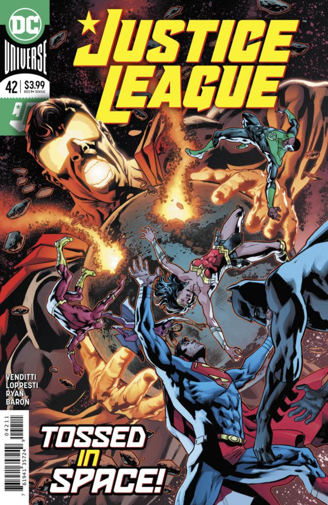 Justice League #42 Cover