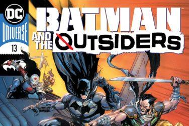 Batman & the Outsiders #13 Cover