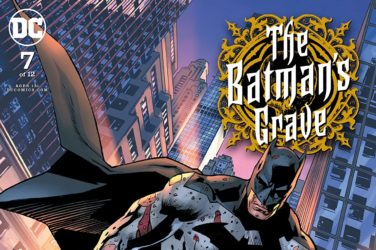 Batman's Grave #7 Cover