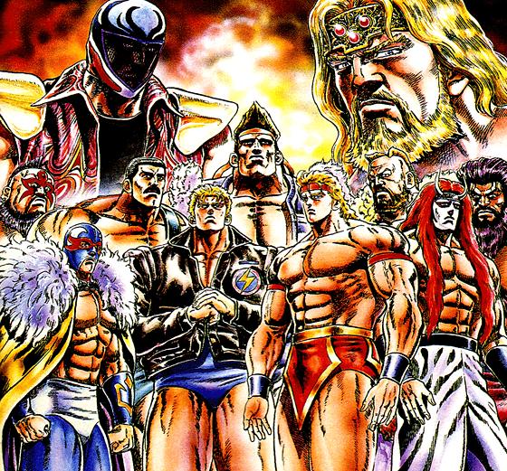 Saturday Night Slam Masters promo image via Capcom